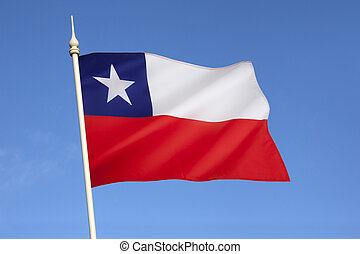 Flag of Chile - South America - The national flag of Chile...