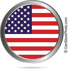 USA flag button.