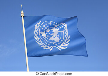 Flag of the United Nations - The flag of the United Nations...