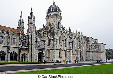 The Monastery of St. Jeronimos, is one of the most famous...