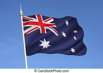 Flag of Australia - The flag of Australias original design...