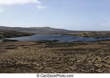 Loch Druidibeg, Nature Reserve, Scottish Natural Heritage,...