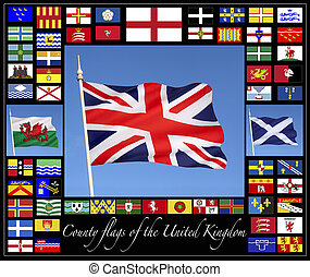 County Flags of the United Kingdom - County flags of the...