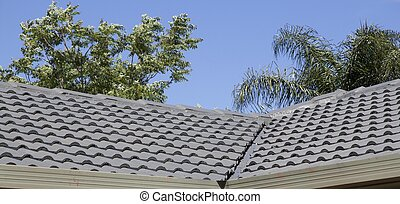 Roofing Restoration Complete - With the second layer of...