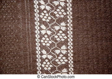 Openwork of Orenburg downy shawl. - Openwork of Orenburg...