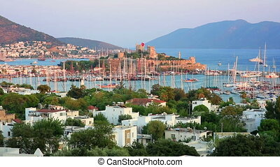 bodrum, holiday destination in turkey - bodrum, famous...