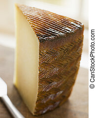 Wedge of Manchego Cheese
