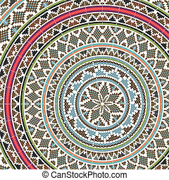 ancient pattern Vector illustration