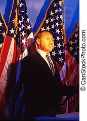 I Had A Dream, Martin L. King Jr. - Museum of Waxes...