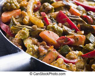 Sabzi Salan - Vegetable Curry