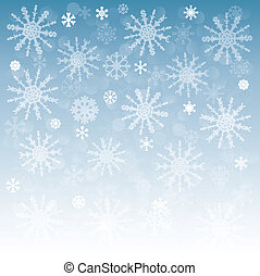 new year background with snowflakes - new year background...