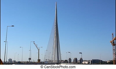 Belgrade, Ada Bridge - Belgrade, new Ada Bridge