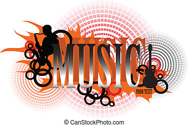music logo in eps interpretation