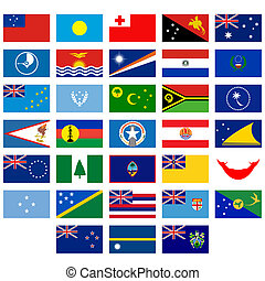 Flags of Australia and Oceania