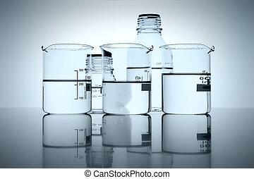 laboratorium, Flaskor