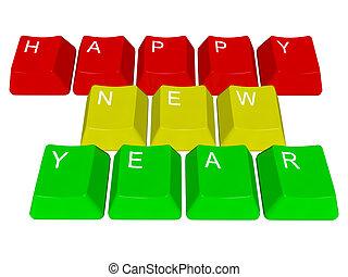 Happy new year - pc keys