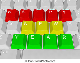 Happy new year - pc keys