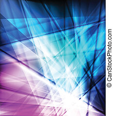 Blue and pink neon vector abstract background template