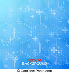 Abstract medical background vector illustration for you