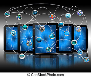 link - International Network of internet spread around the...