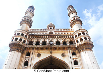 Charminar Hyderabad India, a historic 400 year old monument...