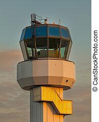 Air Traffic Control - Small Air Traffic Control Tower as a...