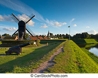 Fortress Village Netherlands - Fortified Town of Bourtange...