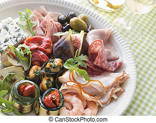 Platter of Antipasto