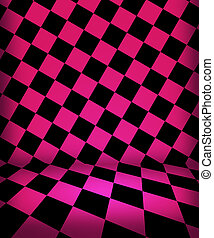 Pink Chess Room Stage