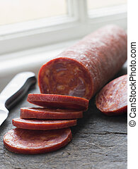 Sliced Chorizo Sausage