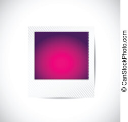 color picture illustration design over a white