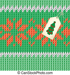 handmade and lable - Christmas illustration. Handmade...