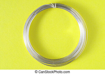 Handmade Jewelry Silver Parts - Jewelry Silver Wire on a...
