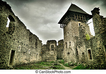 ancient castle - ruins of old ancient castle