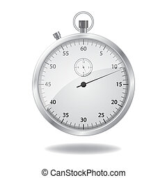 stop watch - Vector stop watch, realistic illustration