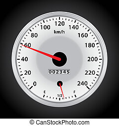speedometer  - vector car speedometer for you design