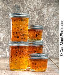 Pepper jelly homemade preserves