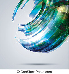 Abstract design background - Abstract background with a...