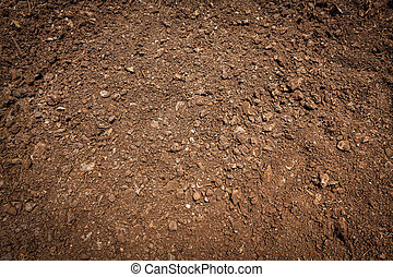 Soil surface - Background of soil surface