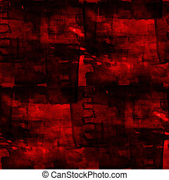 seamless artist cubism abstract art texture red watercolor wallpaper background   .