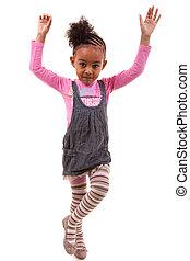 Portrait of an african american little girl - Black people -...