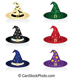Witch\'s hat - Illustration of a witch\'s hat for Halloween