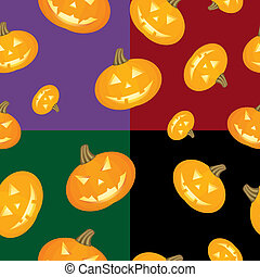 Halloween background Pumpkins