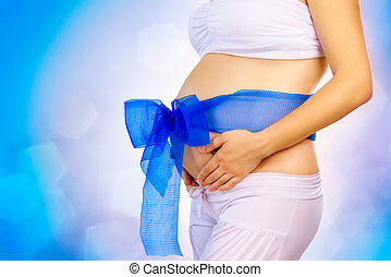 Pregnant Woman Belly. Pregnancy Concept