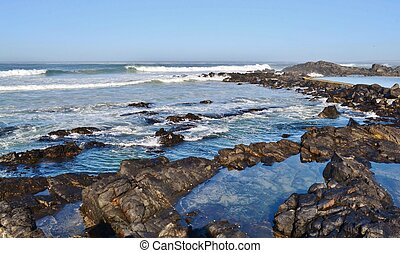 Tidal pool - Seascape at Silverstroom Beach Resort South...