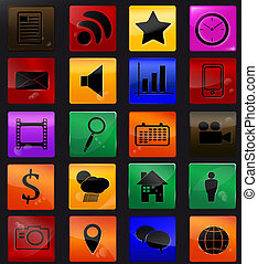 Web icons 2 - Web icons Vector eps 10