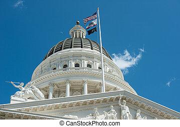 Sacramento, Kapitol, gmach, Kalifornia