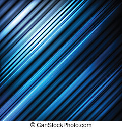 Blue abstract vector background with neon lines - Blue...
