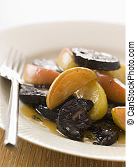 Black Pudding Apples and Cider