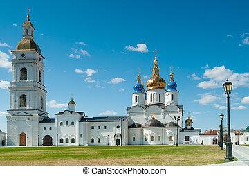 St Sophia-Assumption Cathedral in Tobolsk Kremlin - Tobolsk...